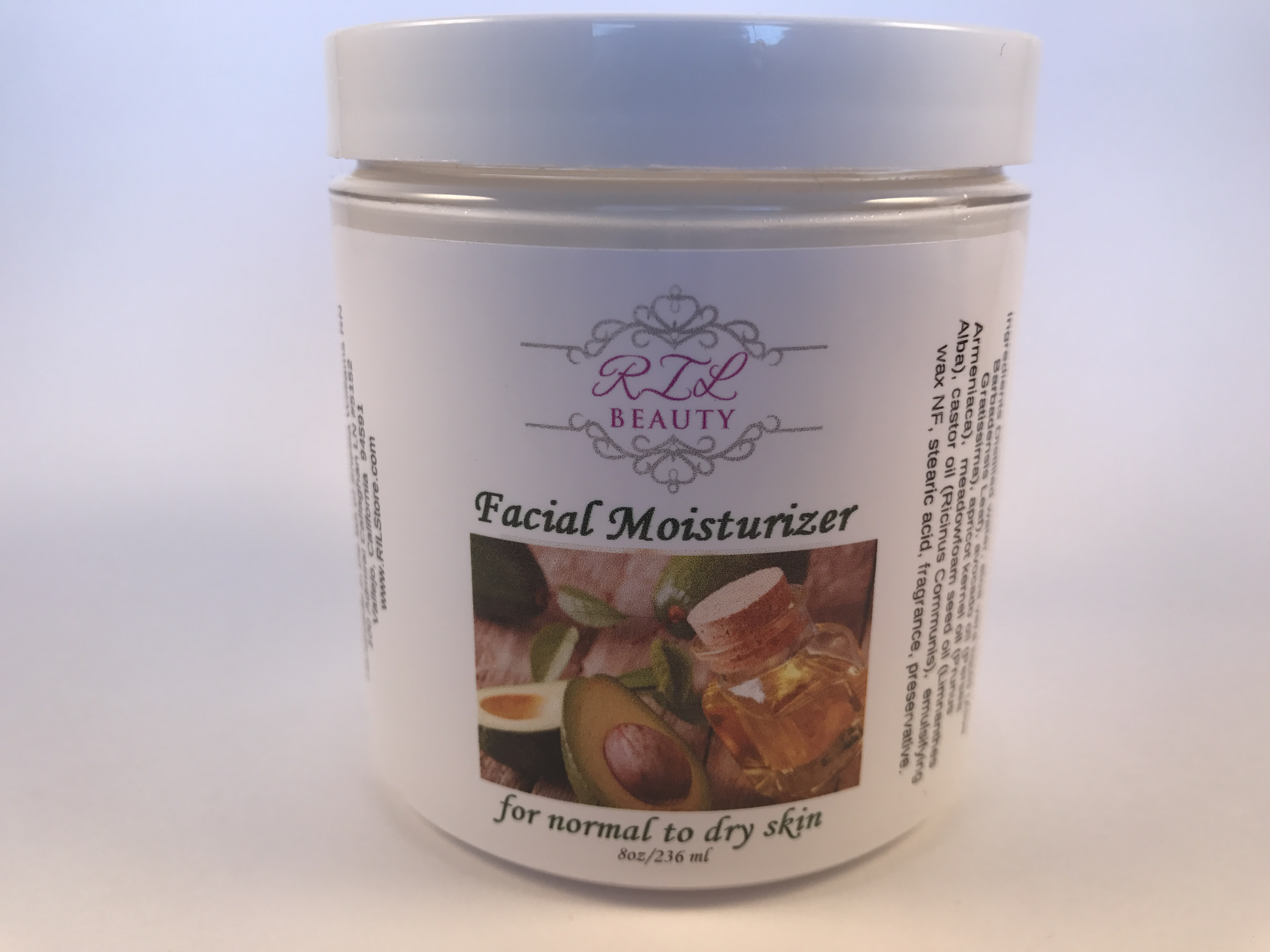 Facial Moisturizer (Normal to Dry skin) 8 oz.
