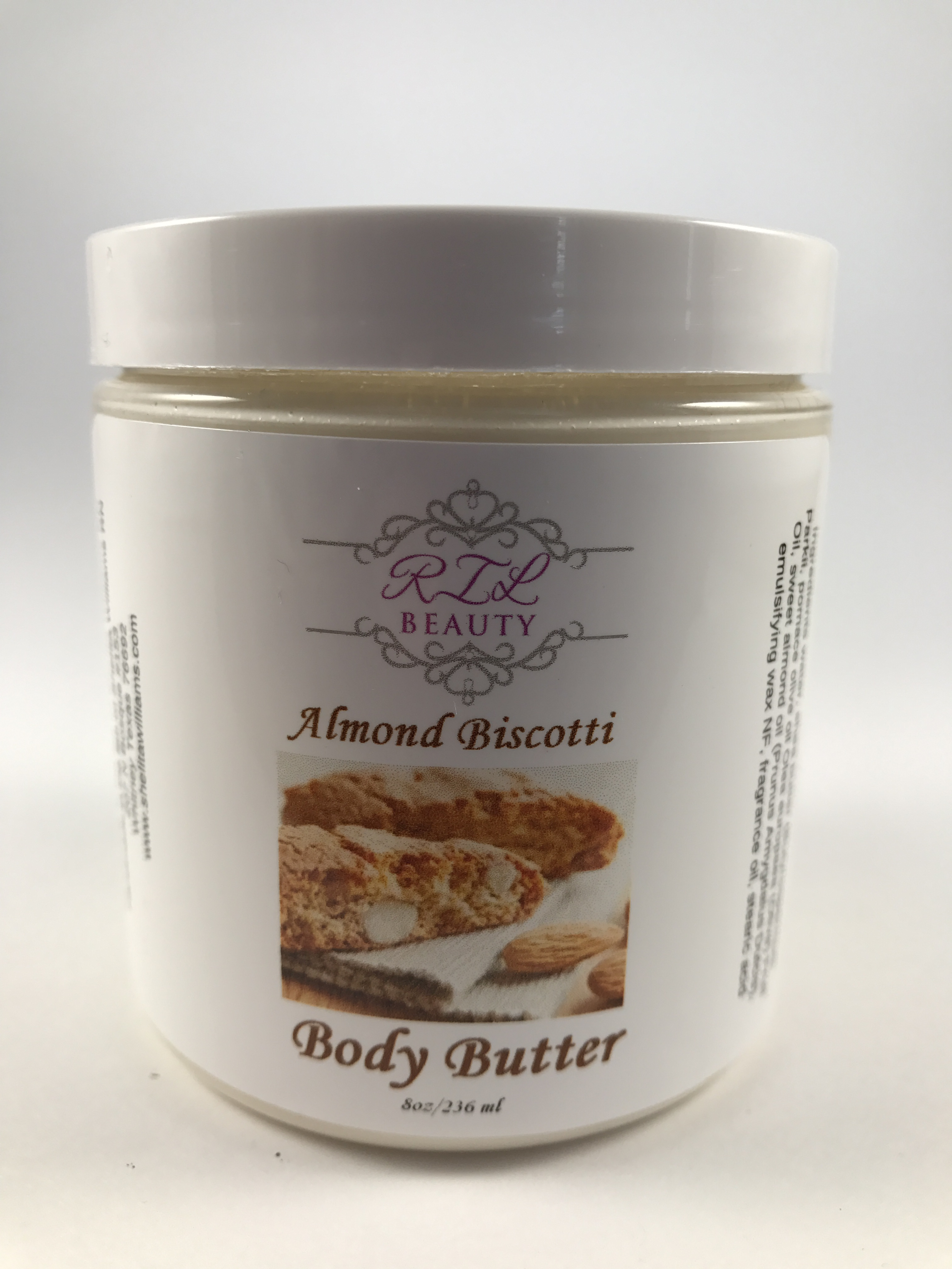 Almond Biscotti 8oz. Body Butter