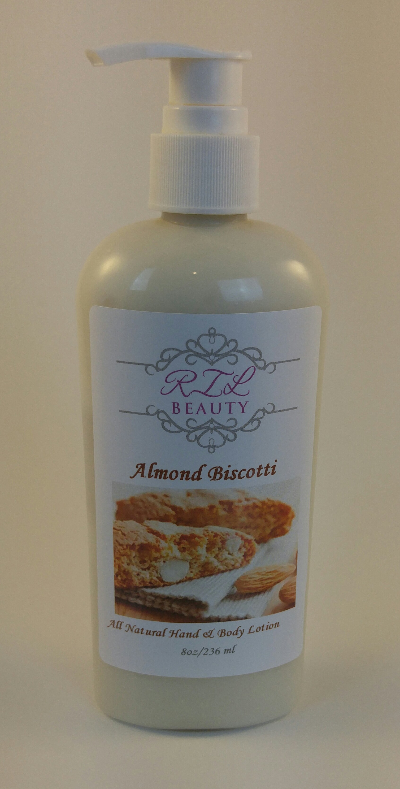Almond Biscotti 8oz. Lotion
