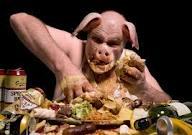 eat like a pig