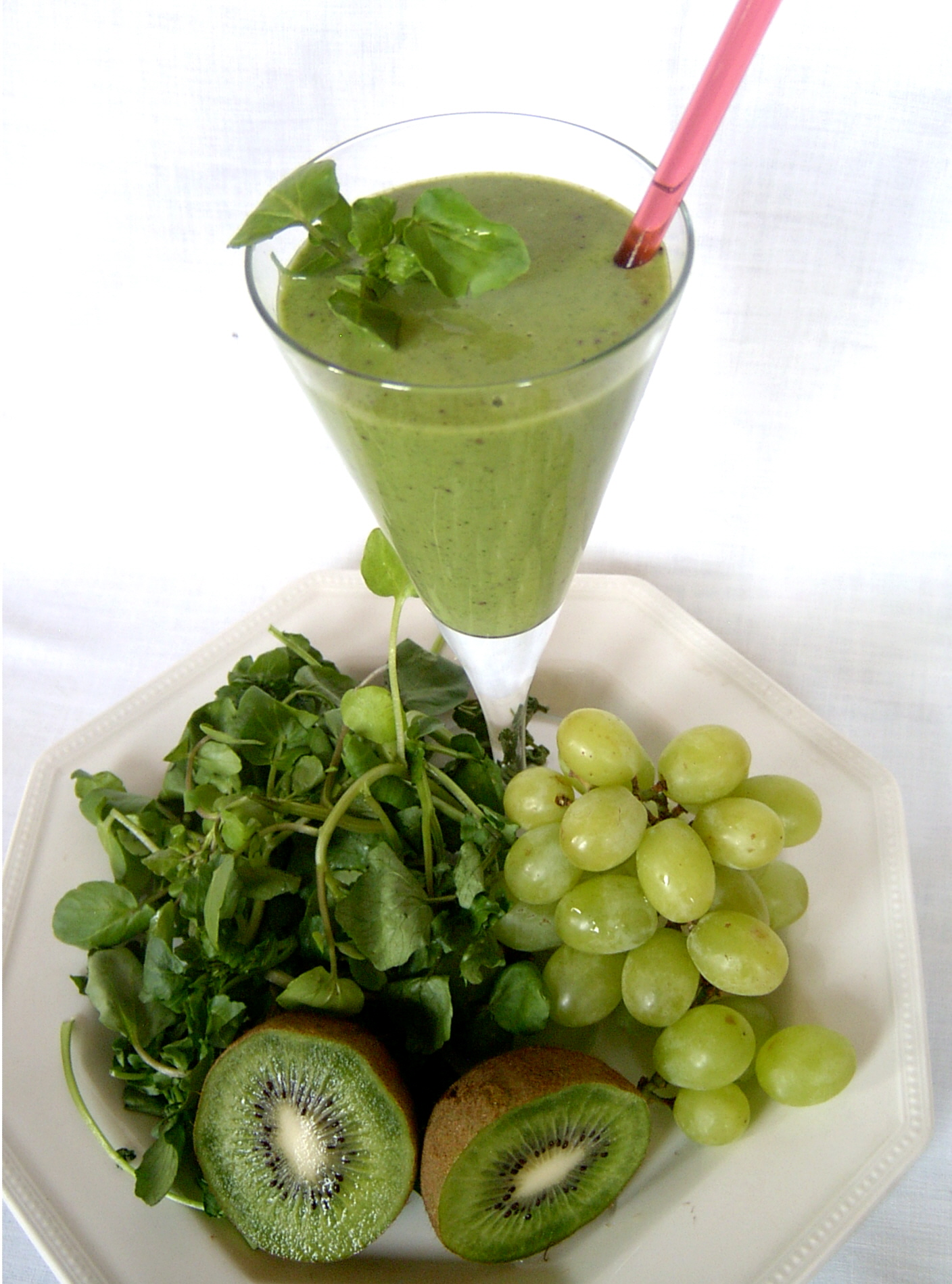 How to Make a Green Food Smoothie!