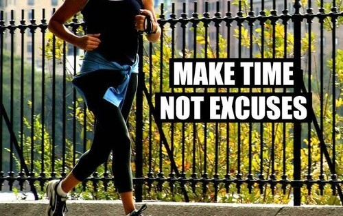 make-time-not-excuses