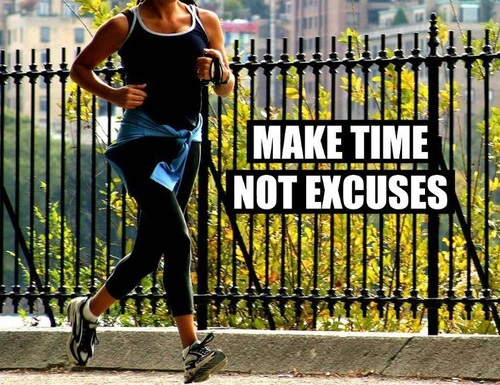 "RIL Motivation: Take a ""No Excuses"" Approach to Reach Your Health and Fitness Goals!"