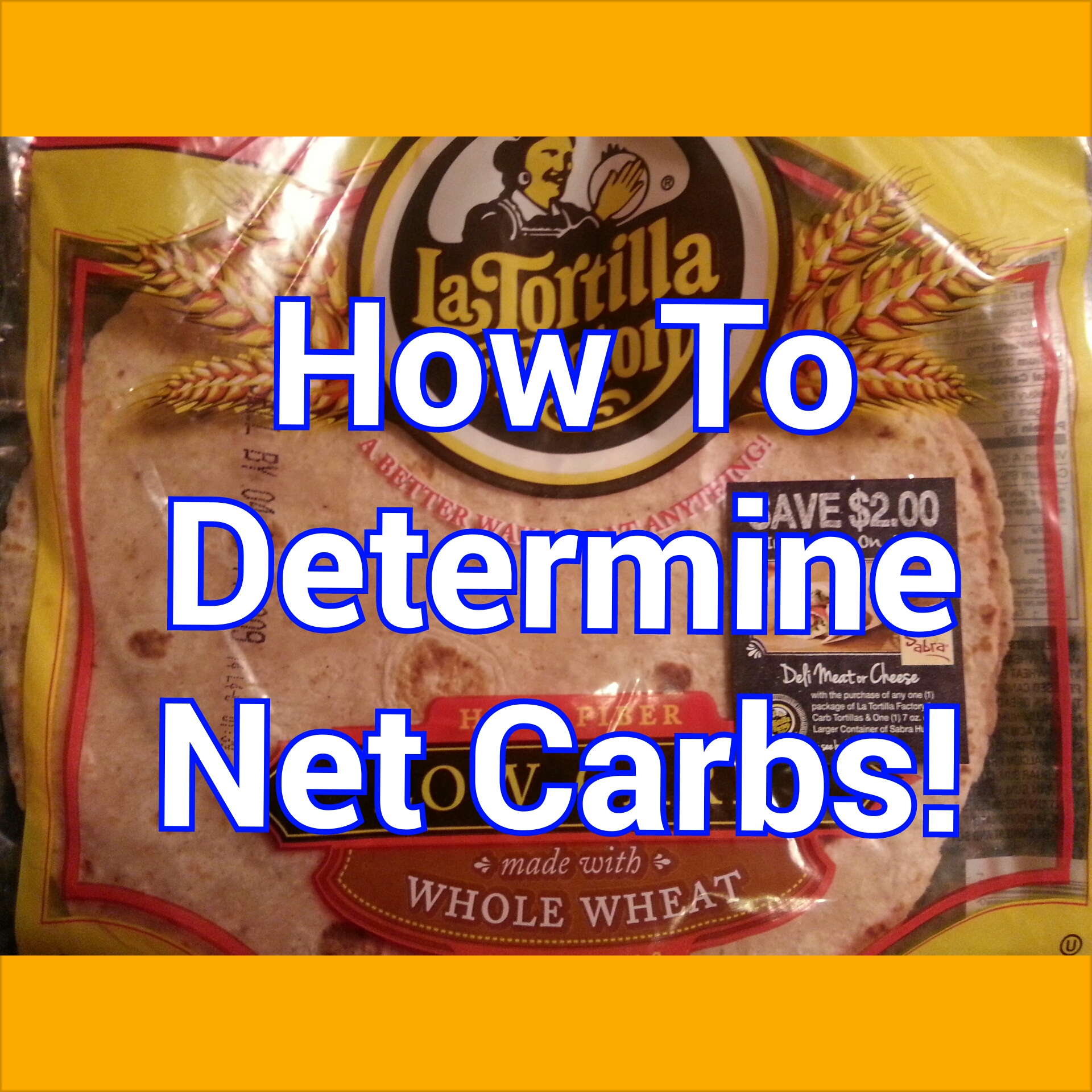 How to Determine Your Net Carbs!