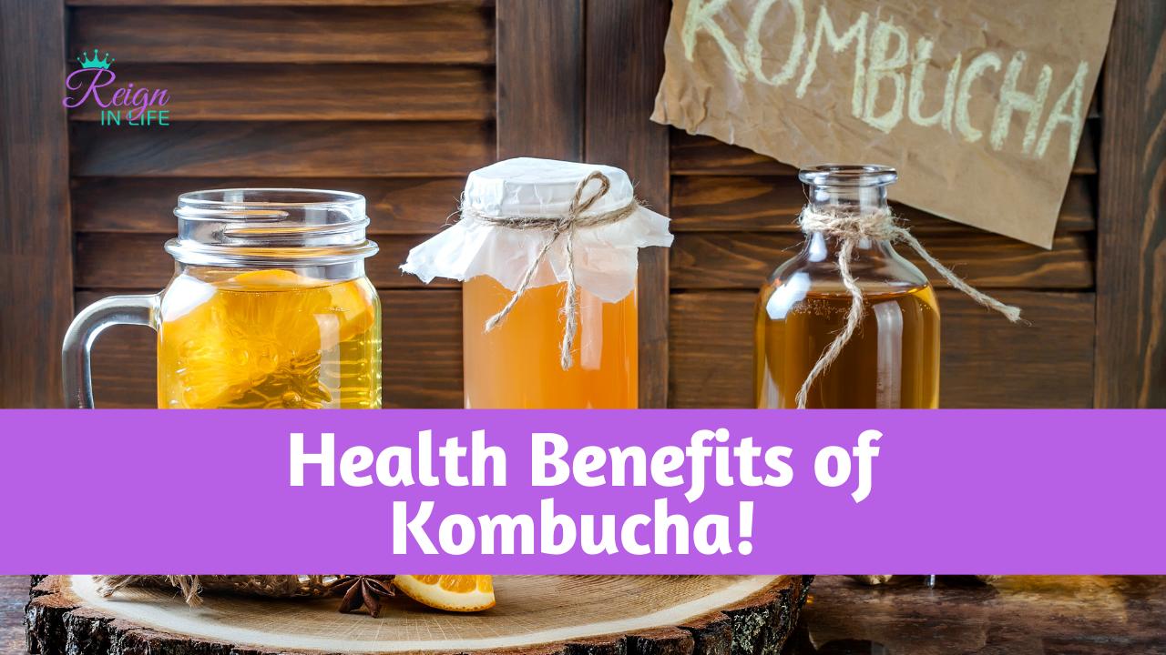 Kombucha Health Benefits   Elixir of Life!