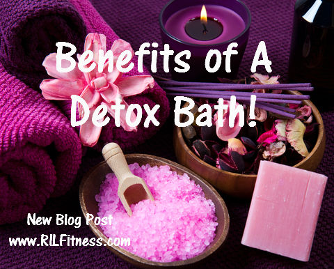 Benefits of a Detox Bath! Journal Day 4