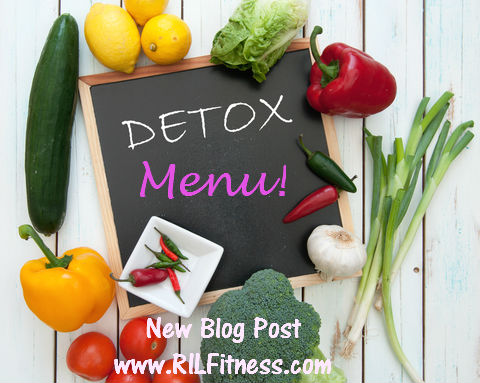 Detox Menu | Journal Day 2