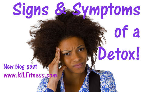 signs and symptoms of a detox