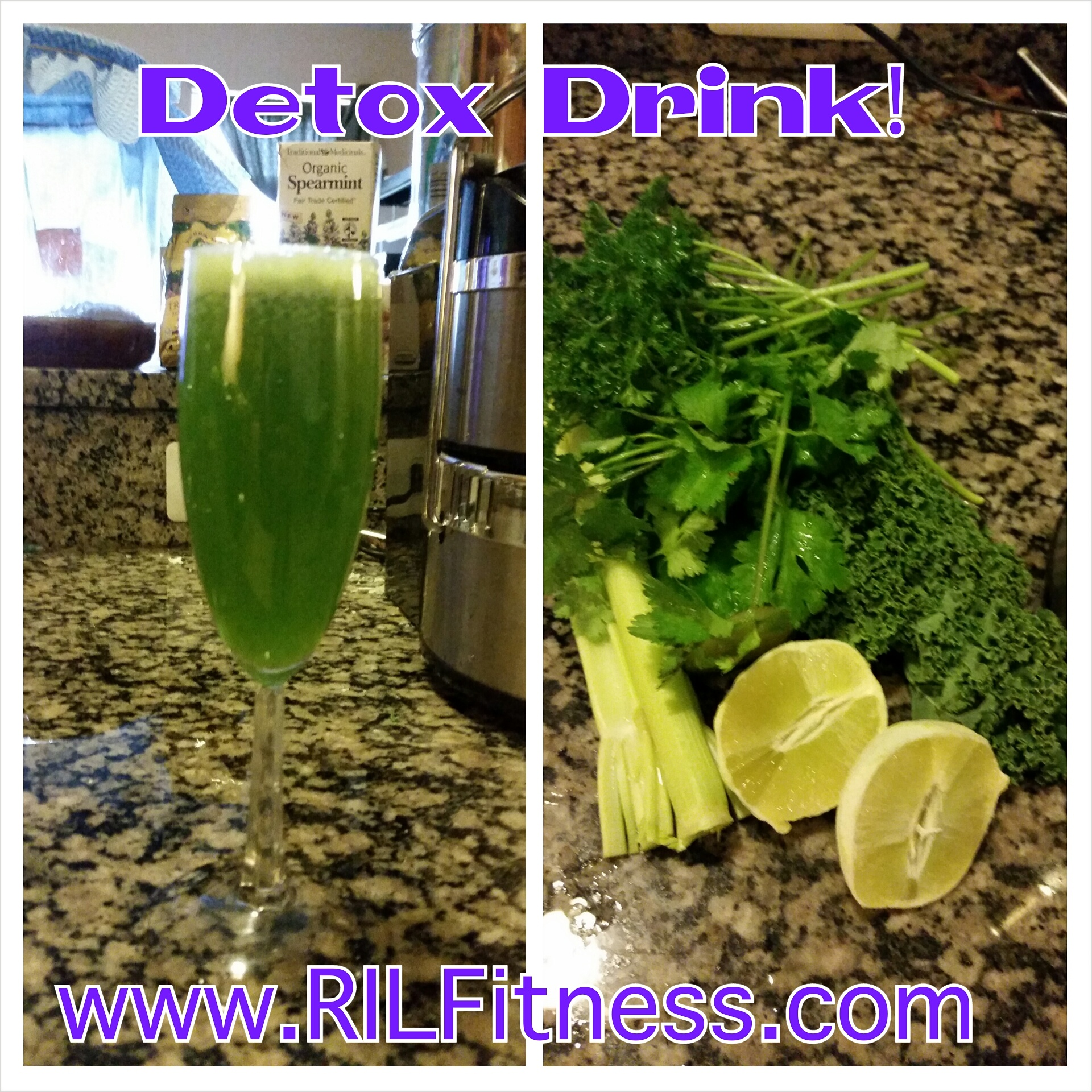 Detox Drink! Journal Entry 2 Day 1