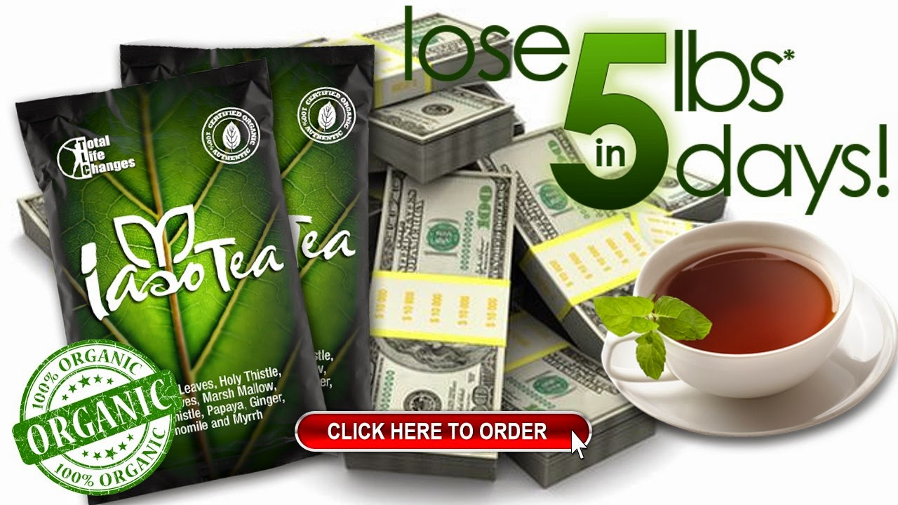 Lose Weight & Make Money w Iaso Tea!