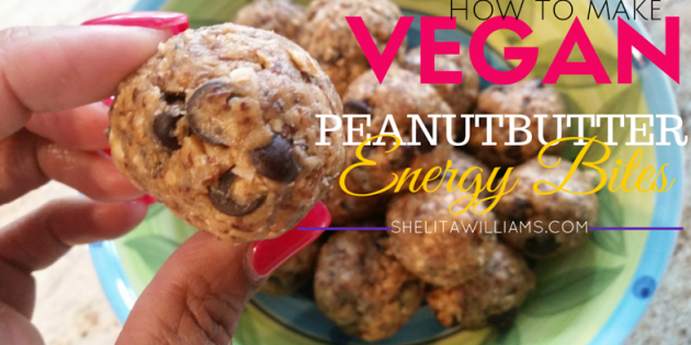 Vegan Peanut Butter Energy Bites