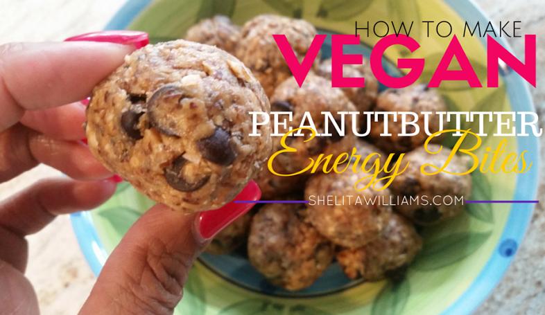 Vegan Peanut Butter Energy Bites!