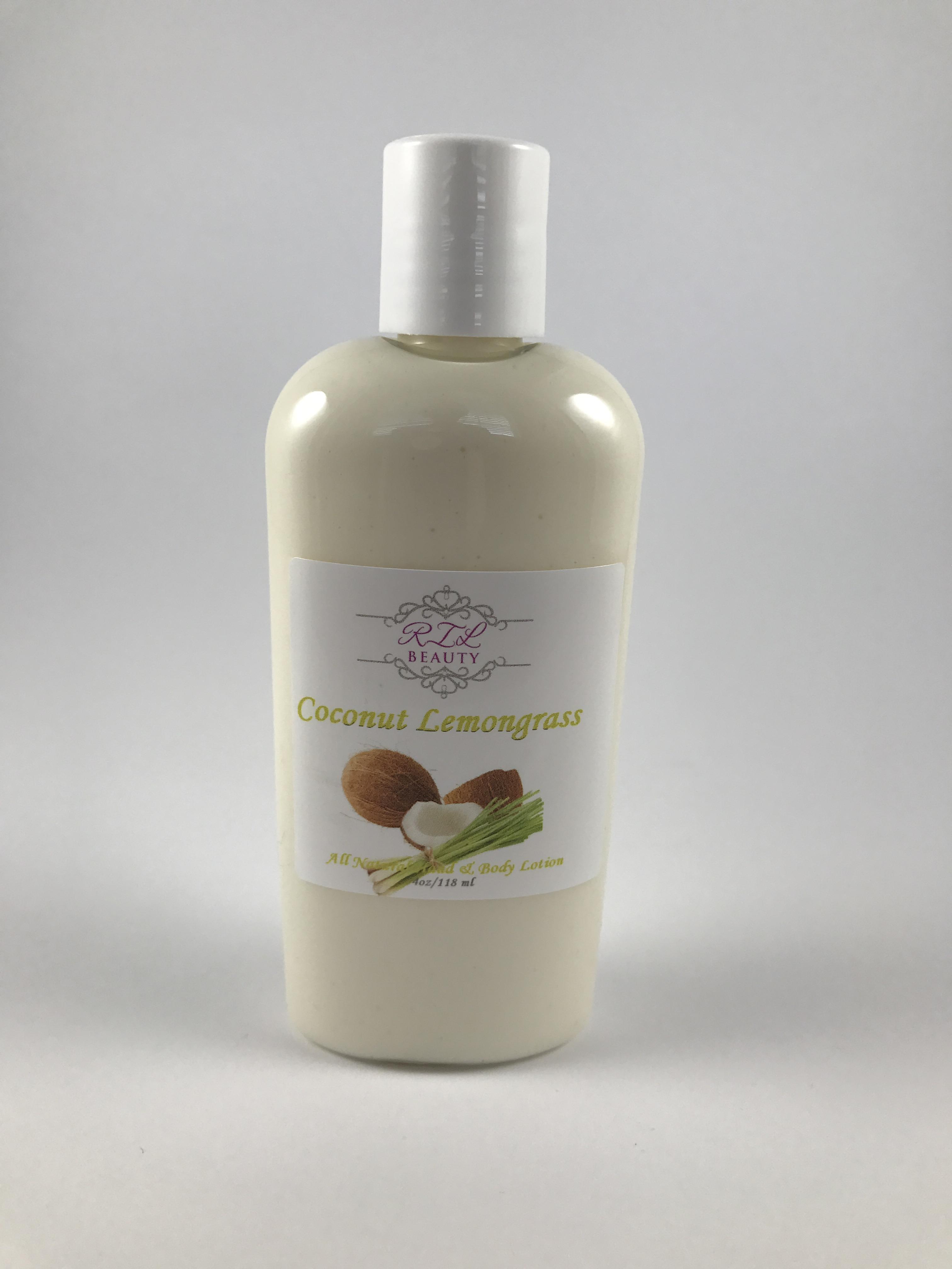 Coconut Lemongrass 2 oz. Lotion (Travel Size)