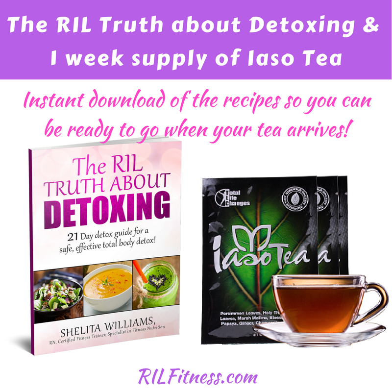 The RIL Truth About Detoxing & Iaso Tea Trial