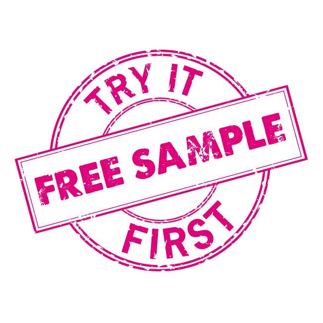 Free Product Samples (New Customers ONLY)