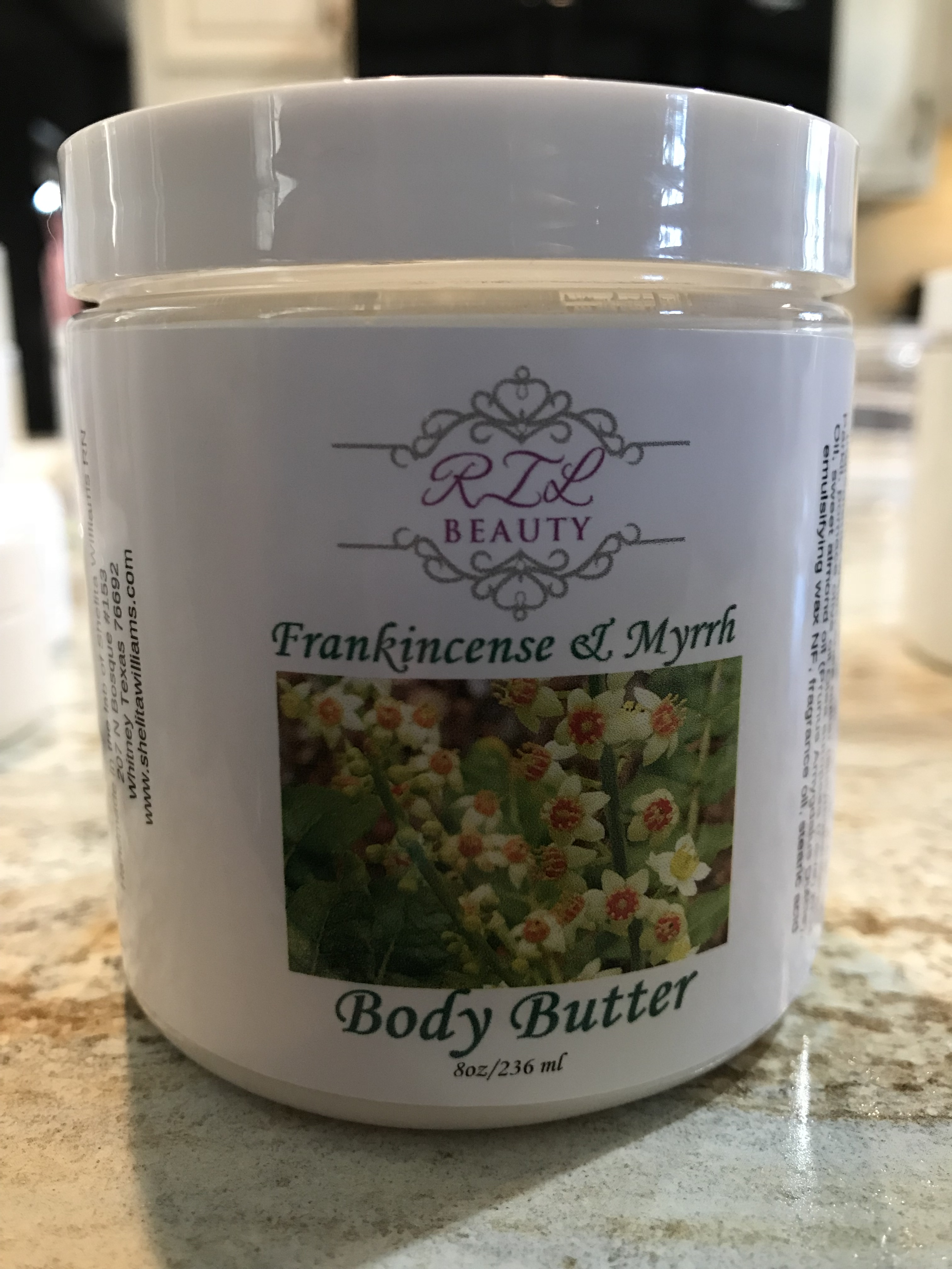 Frankincense & Myrrh 8oz. Body Butter