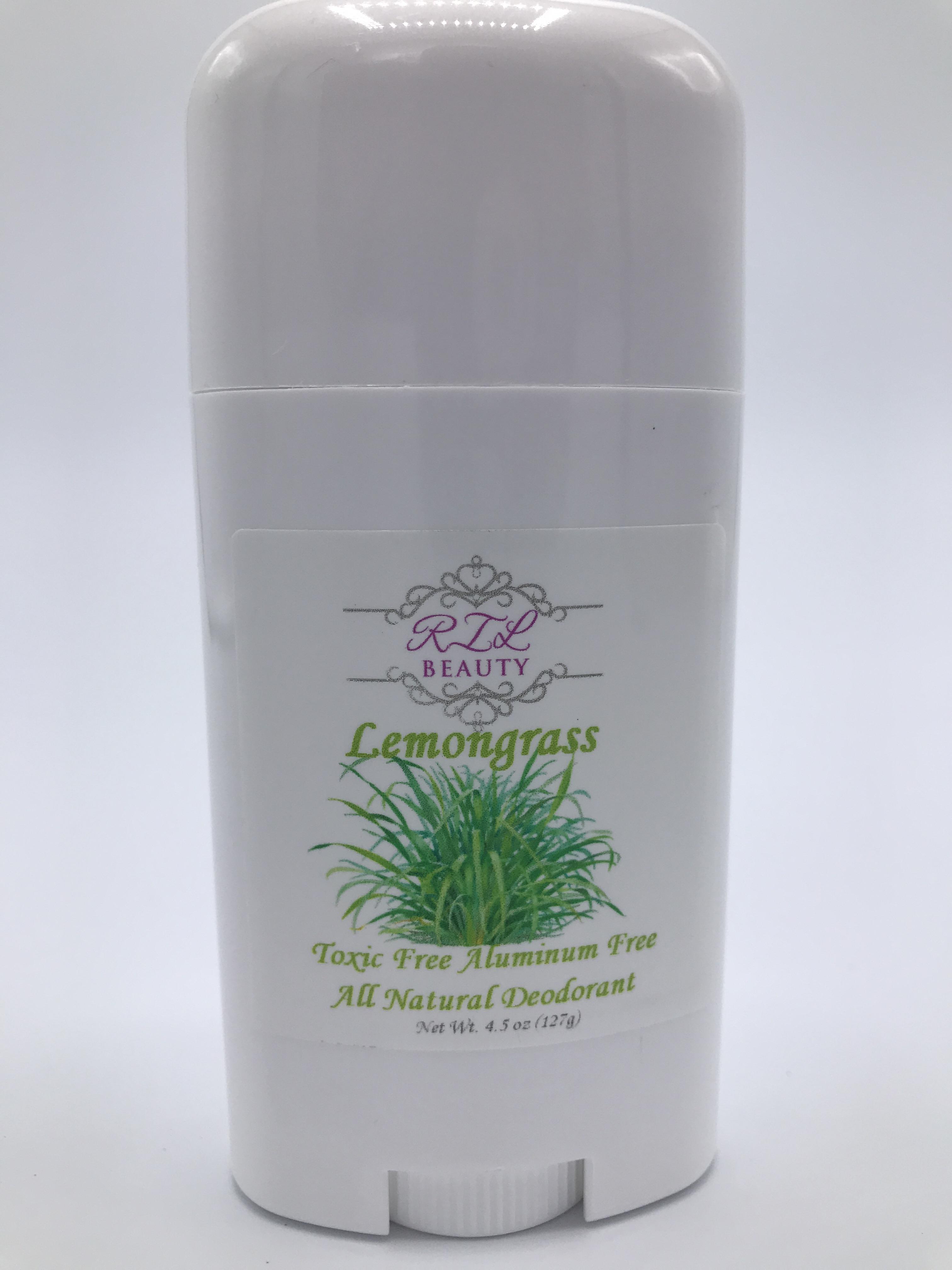 Lemongrass Essential Oil Toxic Free Aluminum Free Deodorant!