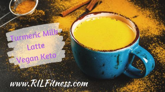 Turmeric Milk | Vegan Keto | Bedtime Detox Drink