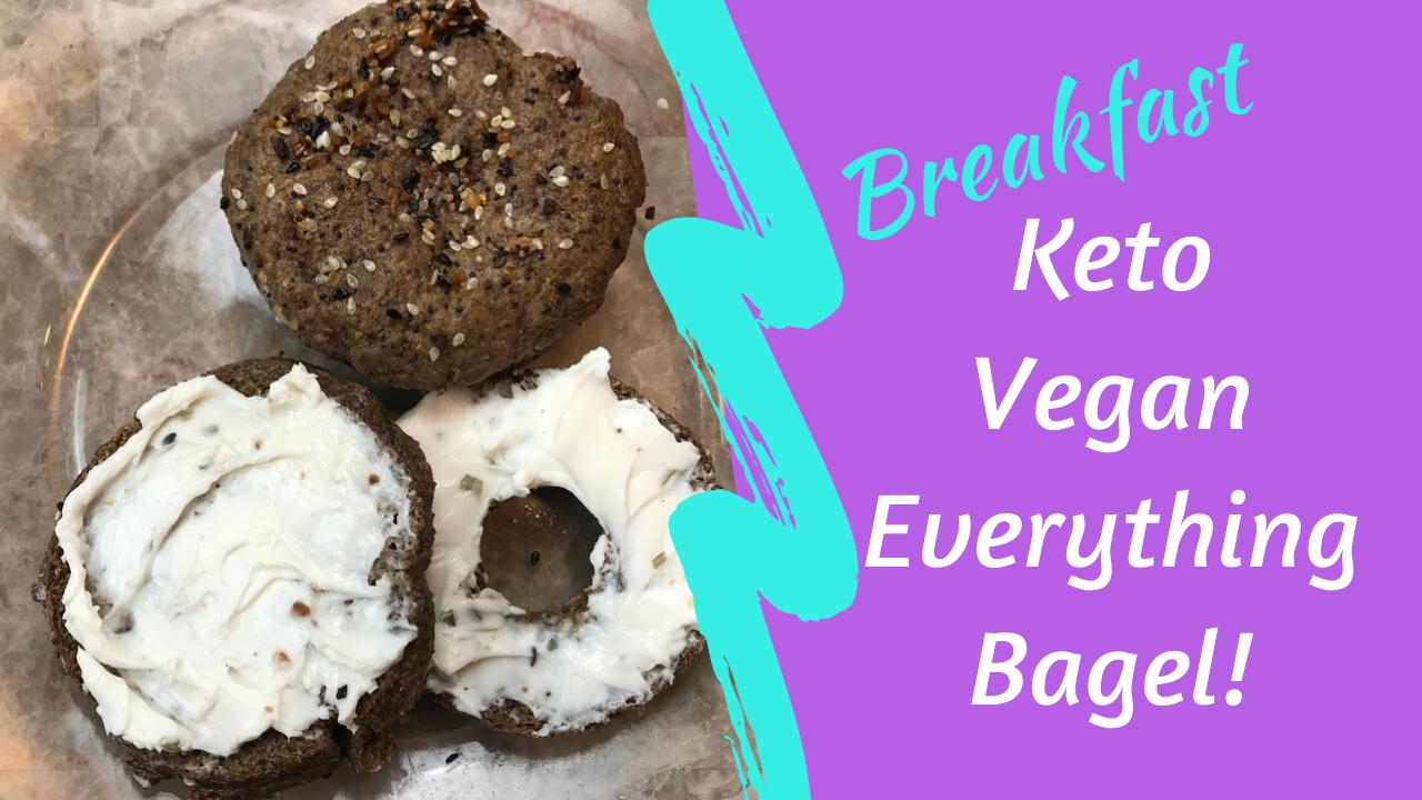 Keto Vegan Everything Bagel